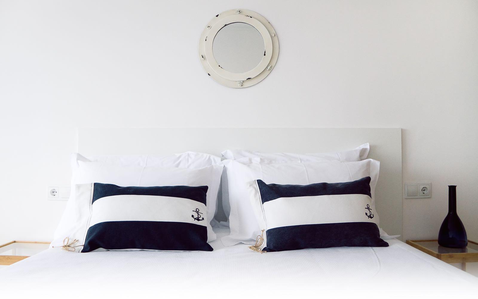 almohadas nauticas