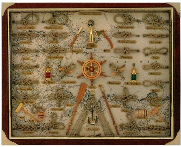 cuadros de nudos marineros