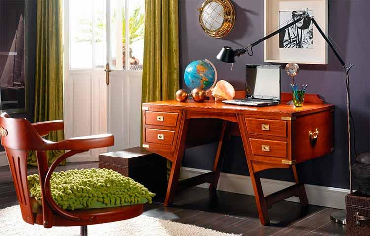 escritorios de estilo marinero