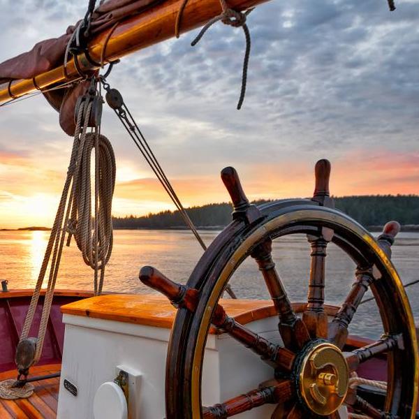 Comprar timon de barco decorativo